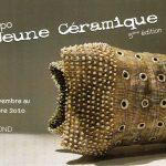 Invitation expo Jeune Céramique à Arte Diem - 17 nov - 5 déc 2010
